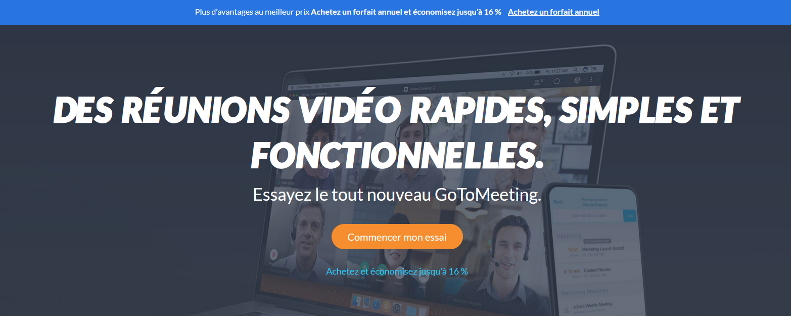 gotomeeting commencer